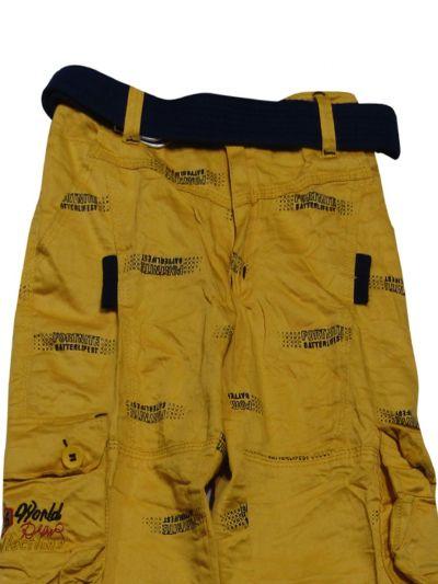 Boys Casual Cotton Trousers - NGA7056889