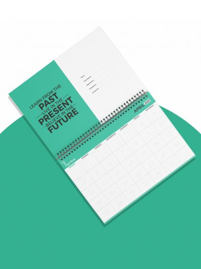 Paper Note | Yearly Planner April 2021 to March 2022