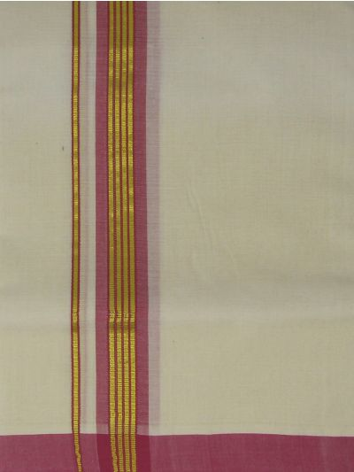 KKV Men's Cotton Dhoti - NEB2063280-EKM