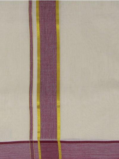 KKV Men's Cotton Dhoti - NJA9702776-EKM