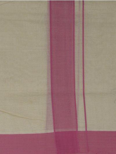 KKV Men's Cotton Dhoti - NEB2063100-EKM