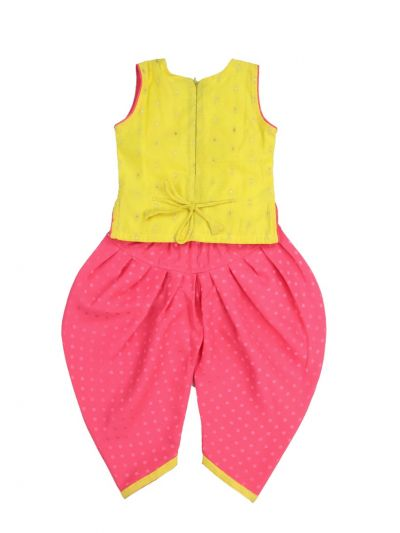 Infants Girls Fancy Western Dress - MKA8924791