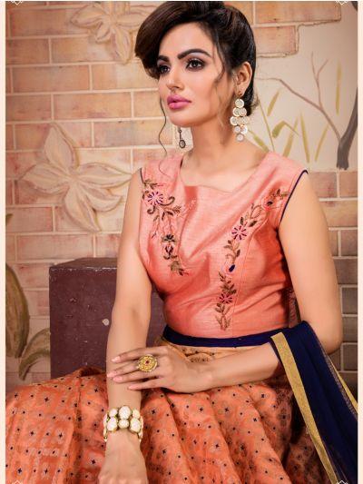 Khyathi Women's Exclusive Hand Work Readymade Salwar Kameez-SKSIM03