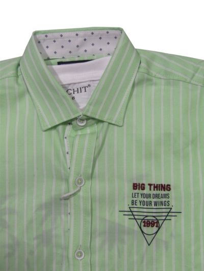NFE5882881- Boys Fancy Cotton Shirt