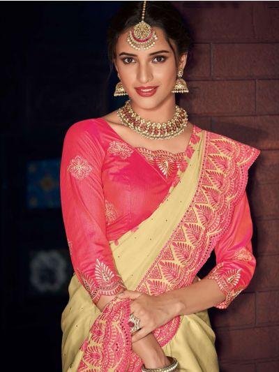 MFB4730264-Kathana Fancy Raw Silk Embroidery Saree