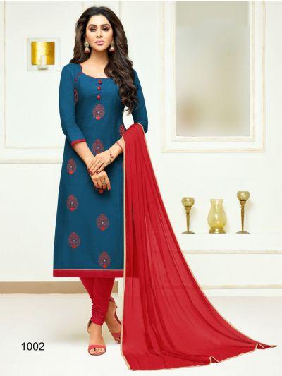Isabella Women's Cotton Dress Material