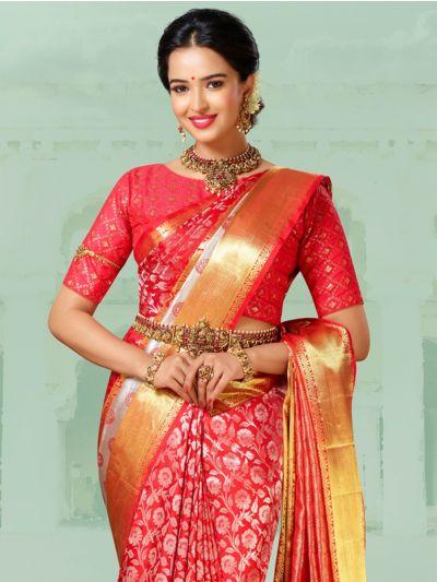 Vivaha Goddess Pure Kanchipuram Handloom Silk Saree