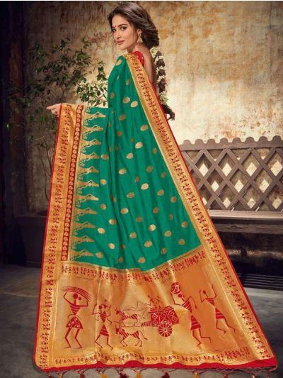 Fancy Semi Jute Saree - RGSS1105
