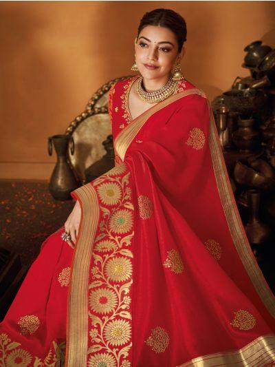 MEC7873195-Exclusive Designer Party Wear Saree With Designer Blouse
