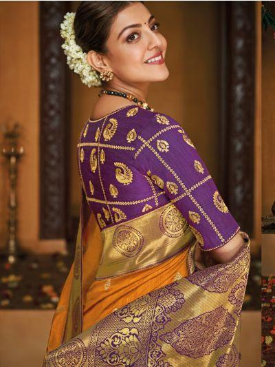 Exclusive Designer Party Wear Raw Silk Saree