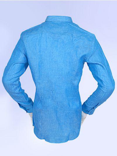 Zulus Festin Men's Linen Shirt - MGA7771311