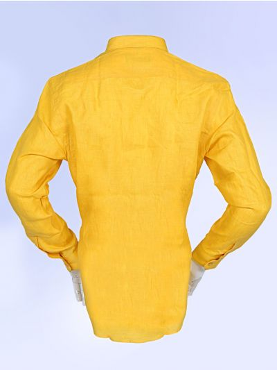 Zulus Festin Men's Linen Cotton Shirt - MGA7771347