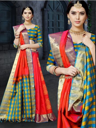 MHC2057972 - Bairavi Traditional Silk Saree-BTSS1213