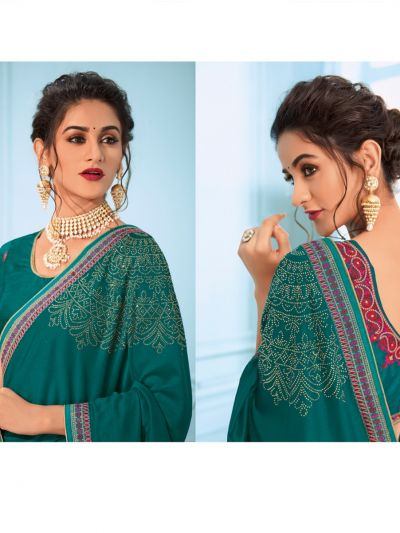 Kathana Fancy Raw Silk Saree - MHB1593105