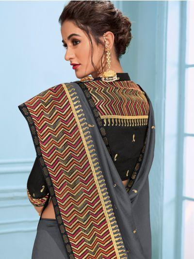 Kathana Fancy Raw Silk Saree - MHB1593113