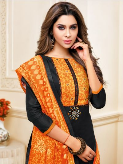 Isabella Women's Cotton Slub Dress Material-WCSDM17012