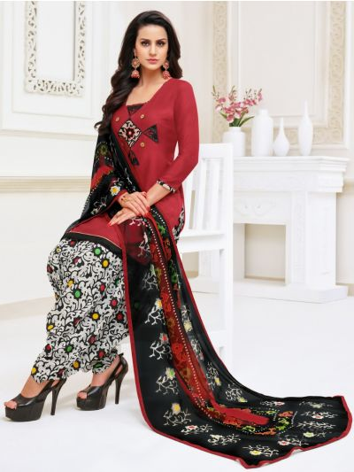 Isabella Women's Modal Print Dress Material - WDMS18001