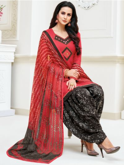Isabella Women's Modal Print Dress Material - WDMS18010