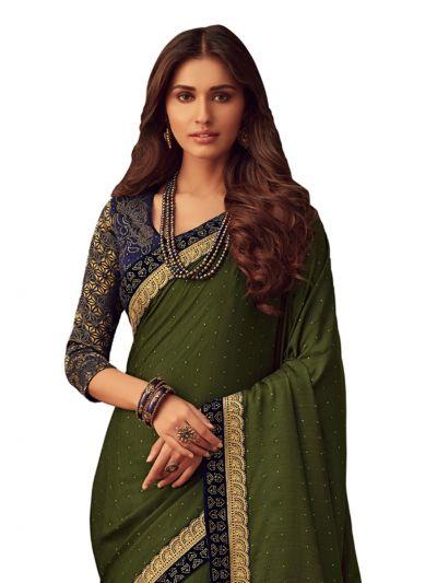 Sahithyam Exclusive Designer Bhagalpuri Silk Saree