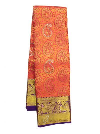 NIB6063141 - Traditional Silk Stone Work Saree