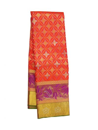 NFD5554131 - Traditional Silk With Stone Work Saree