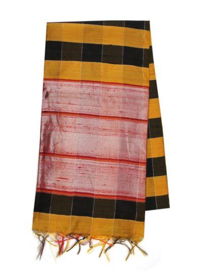 NJB0295320 - Handloom Tussar Silk Saree