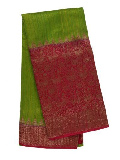 Antique Banarasi Silk Saree - NHB4602160