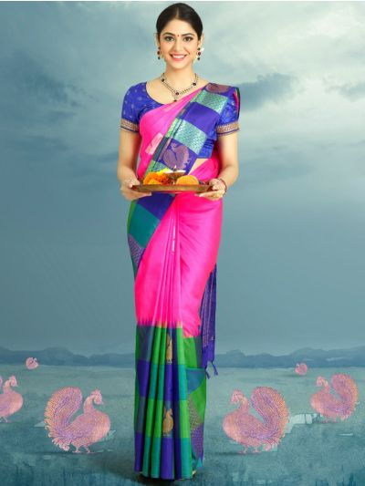 Estrila Handloom Pure Kanchipuram Silk Saree