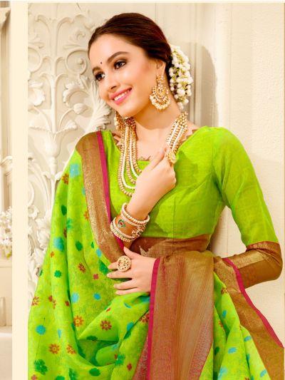 Fancy Thanjuri Silk Saree
