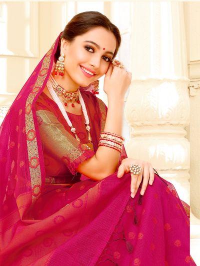 Fancy Kota Silk Saree