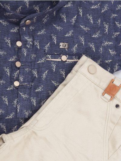 Boys Casual Shirts and Pant Set - BCS2154