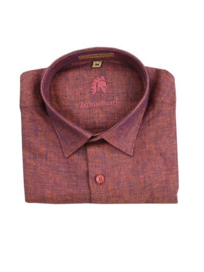 Zulus Festin Men's Readymade Formal Linen Shirt - EKM