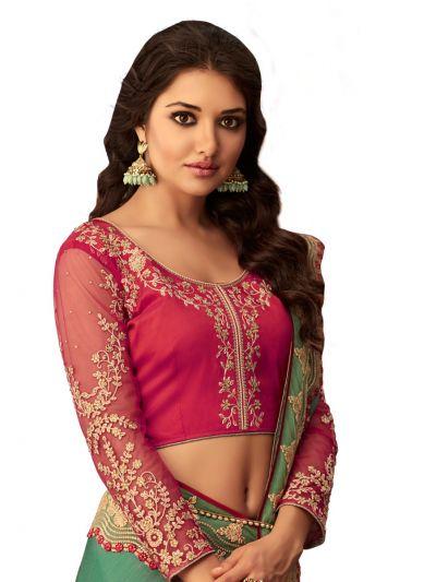 Kathana Exclusive Shimmer Chiffon Saree - SCS3908