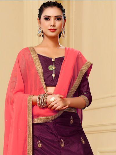 Women's Embroidery Lehenga Choli