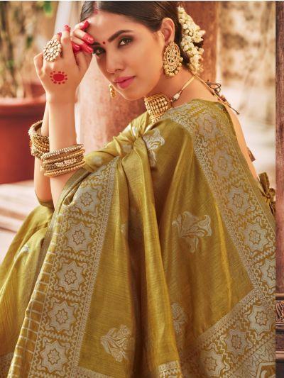 Kathana Exclusive Semi Jute Silk Saree
