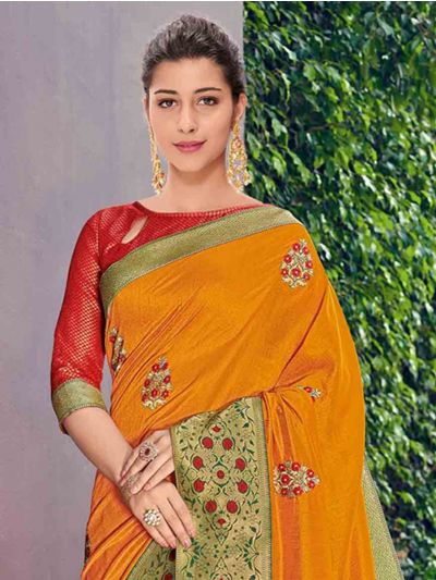 Kathana Fancy Exclusive Georgette Saree - GJ60004