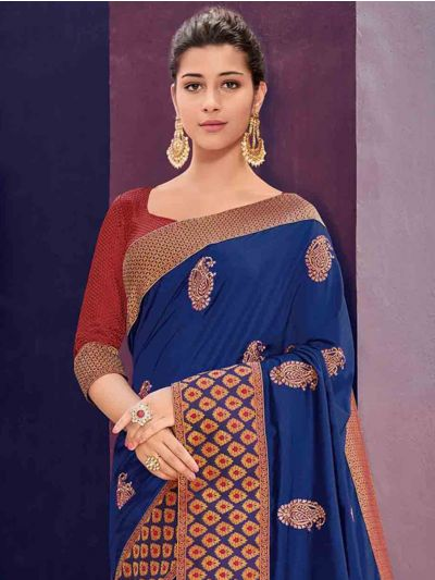 Kathana Fancy Exclusive Georgette Saree - GJ60005