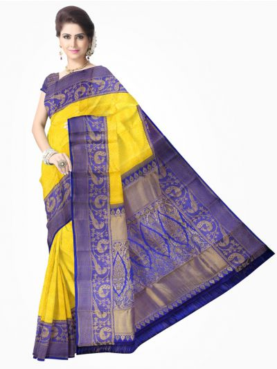 Vivaha Kanchipuram Pure Silk Saree - LDB3834786