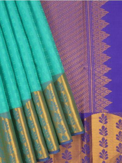 Estrila Wedding Green Silk Saree