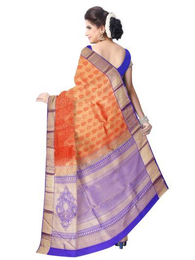 Vivaha Kanchipuram Pure Silk Saree - LJA7373986