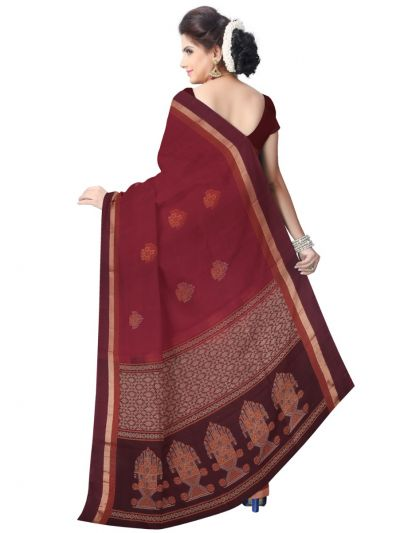 Chamelli Exclusive Negamam Cotton Saree
