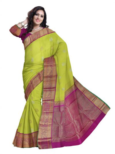 Vivaha Wedding Kanchipuram Silk Saree - LJD0458250