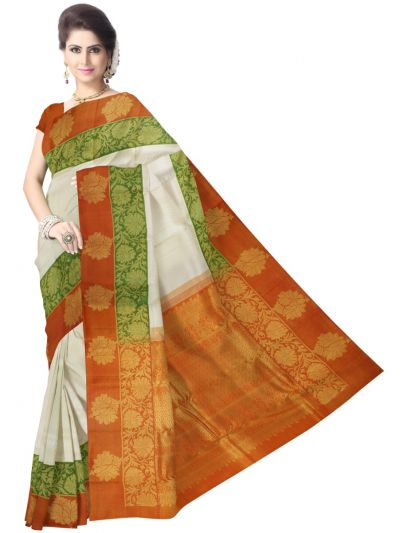 LJD0676306 - Vivaha Kanchipuram Handloom Silk Saree