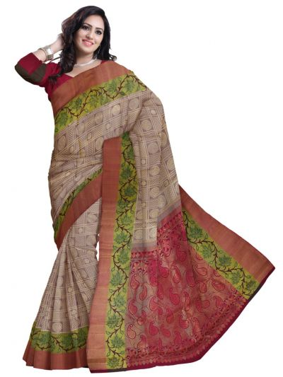 Vivaha Goddess Pure Kanchipuram Handloom Silk Saree - LJD0827774