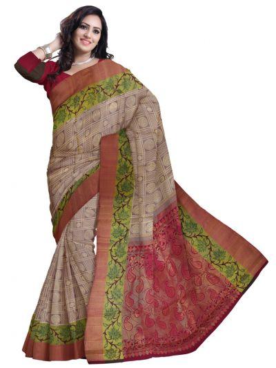 LJD0827774 - Vivaha Goddess Kanchipuram Handloom Silk Saree