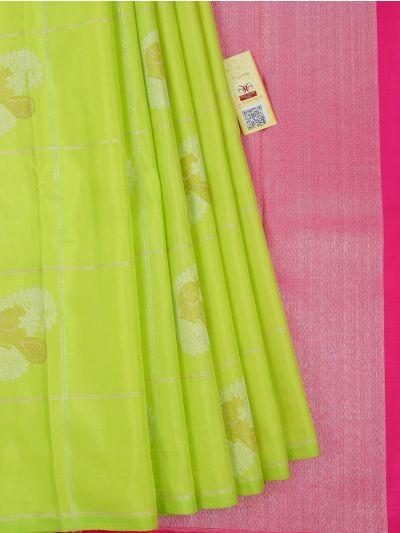 Vivaha Wedding Silk Green Saree