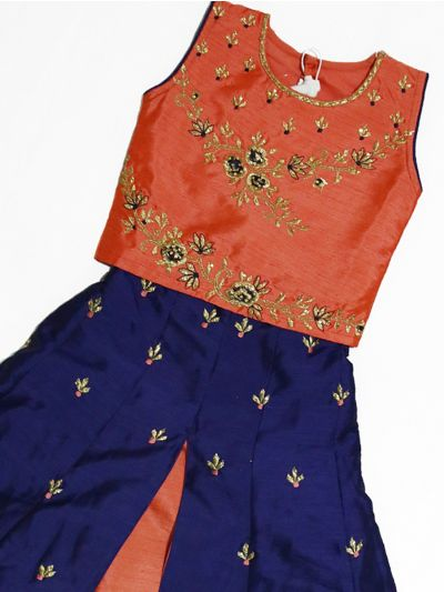 LKB3044655 - Girls Ready Made Fancy  Choli