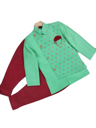 Boys Exclusive Sherwani Set - LKD4935311