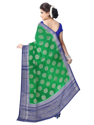 Kyathi Exclusive Dupion Silk Saree - LKD5182531