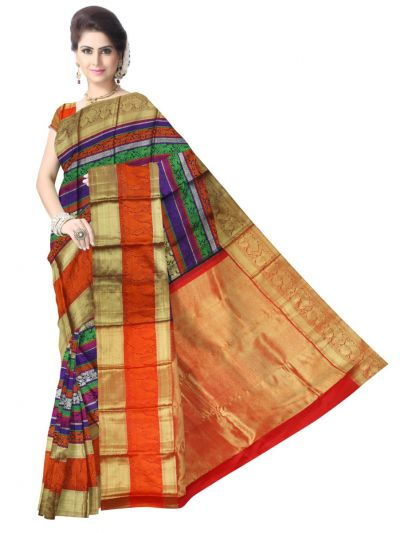 LLC6497862-Vivaha Exclusive Goddess Pure Kanchipuram Silk Saree